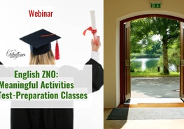 Вебінар: «English ZNO: Meaningful Activities for Test-Preparation Classes»